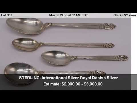 "Acorn by Georg Jensen Sterling Silver Butter Spreader Hollow Handle 6/"""