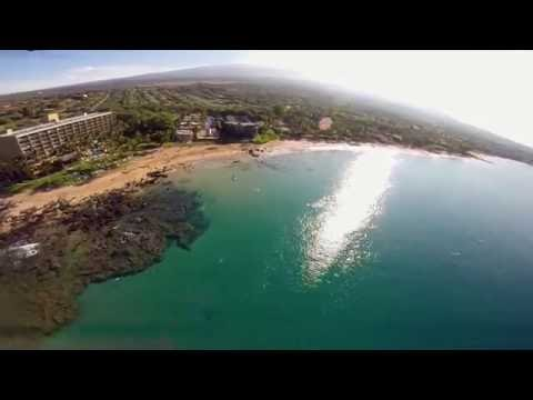 DJI Phantom FPV with GoPro - South Kihei, Maui, Hawaii