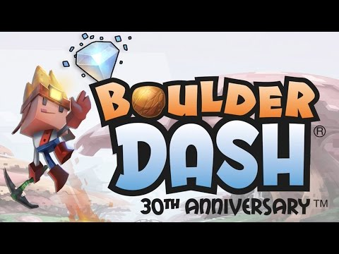 Boulder Dash 30th Anniversary - Steam Launch Trailer
