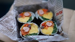 ♥계란김밥 계란마리 계란요리 예쁜소풍도시락 kimbap #School Bento Lunch Ideas #FUN School Lunches #Cơm hộp cho trẻ em