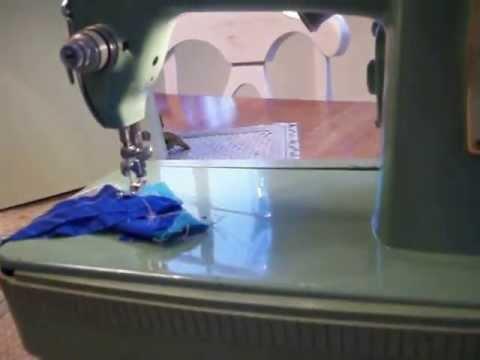 40 Green Singer 40 K Heavy Duty SEWING MACHINE For Sale YouTube Gorgeous Singer 6268 Sewing Machine For Sale