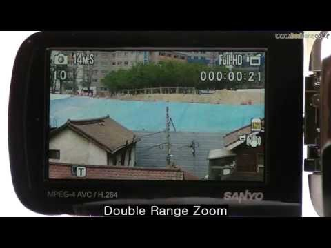SANYO VPC-GH1 Double Range Zoom