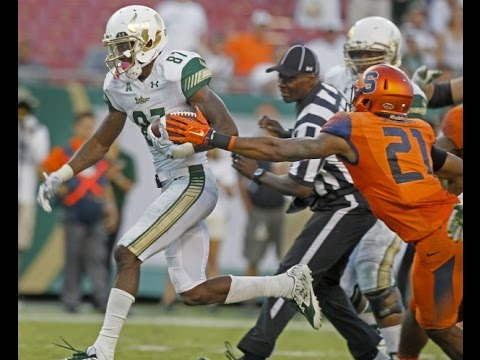 WR Rodney Adams vs Syracuse 2016