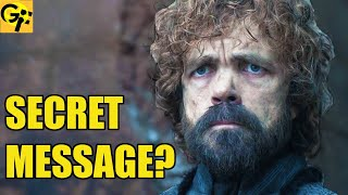The Hidden Message in Game of Thrones Everyone Missed