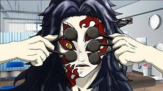【鬼滅の刃】絶対に爆笑してしまう黒死牟の視力検査【きめつのやいば・アフレコ】