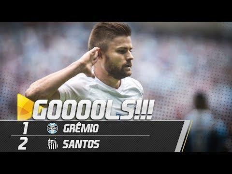 GRÊMIO 1 x 2 SANTOS | GOLS | BRASILEIRÃO (28/04/19)