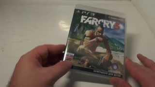Распаковка Far Cry 3 для PS3