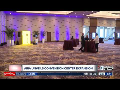 Aria unveils convention center expansion