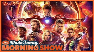Avengers: Infinity War Trailer Reacts - The Kinda Funny Morning Show 03.16.18