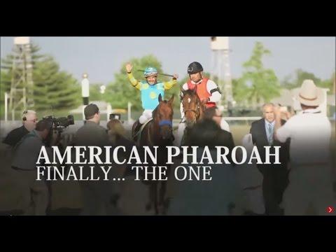 American Pharoah: Finally The One