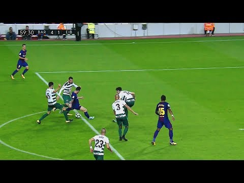 5 Times Lionel Messi Passed the Ball into the Net !¡ ||HD||