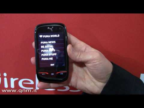 Sagem Puma Phone: video interview