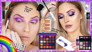 Violet BOMB A$$ Makeup 🧞♀️🌈 Rainbow Series 🗯️ CCGRWM