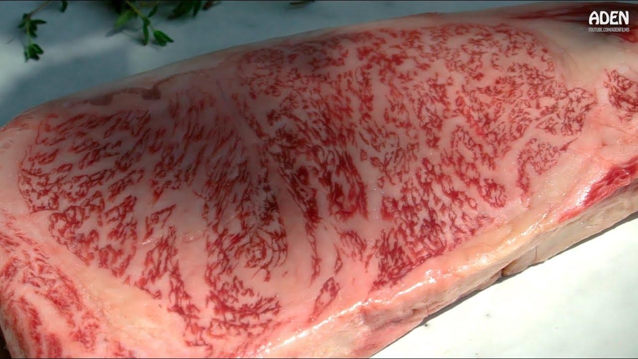 35bddb9fc65c Kobe Wagyu Beef (Japan) - Seared in HOT Cast Iron - YouTube