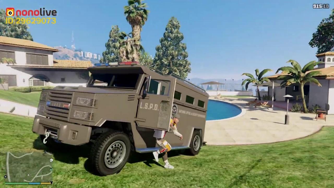 GTA 5 Siêu Xe Độ #12 Bọc Thép Chống Đạn Của SWAT Độ Vô Cực Cướp Tiệm Vàng Bị Công An La Làng Vay Bắt