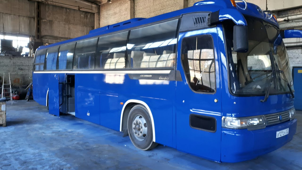 Покраска Автобуса KIA за 2 дня