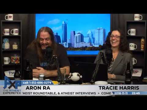 Atheist Experience 2245 with Tracie Harris & Aron Ra