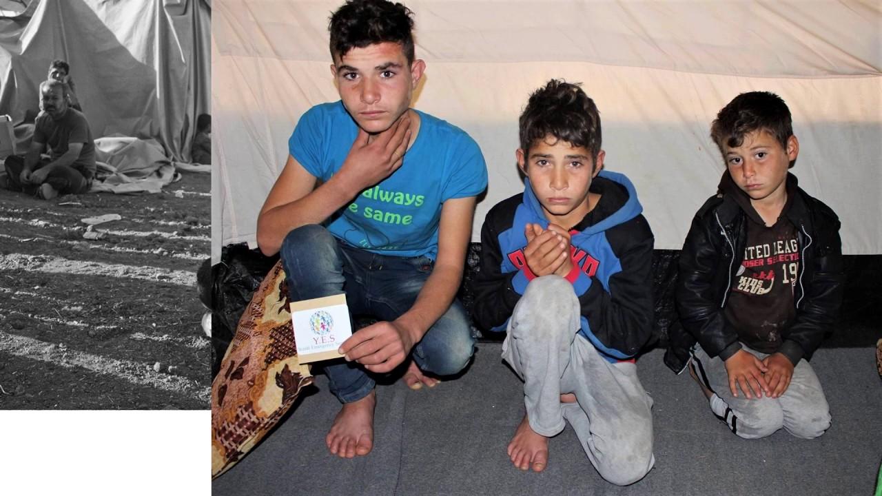 Yezidi orphans pen pal project - YouTube