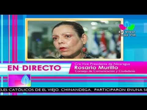 Comunicación con la Vicepresidenta Compañera Rosario Murillo, 15 de Enero 2018