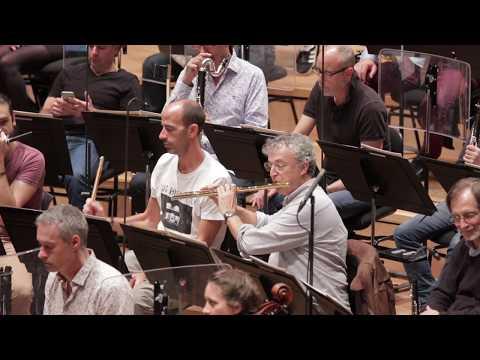 Ravel - Boléro, pour orchestre - Jonathan Darlington (répétition)