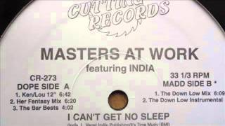 masters at work feat india - I can