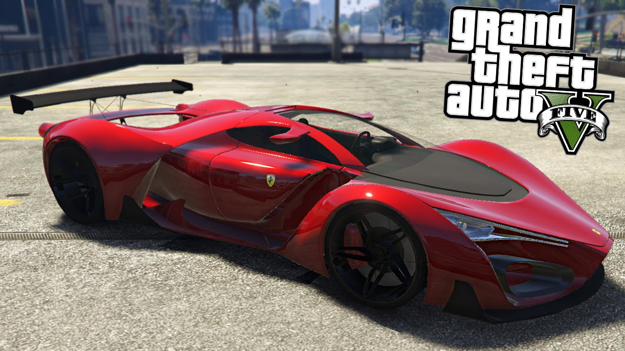 Gta 5 Mods Ferrari F80 Youtube