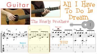 All I Have To Do Is Dream / The Everly Brothers (Guitar)