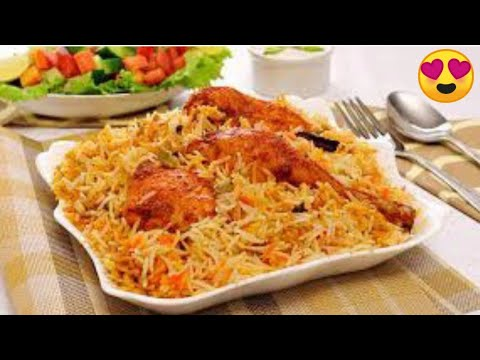 How to make Chicken Biryani or Hydrabadi Briyani at Home Made