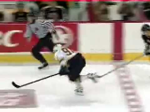 Pavel Bure Stick to Skate Goal - YouTube