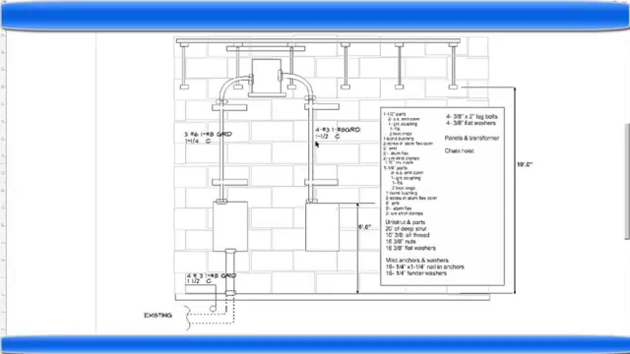 medium resolution of materials to install electrical panels 45 kva transformer