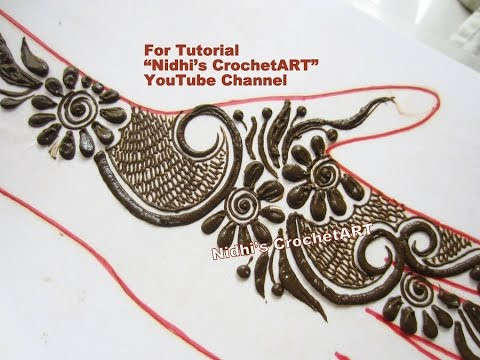 New Flower Mehndi : New designer khaleeji style floral mehndi henna designs for hands