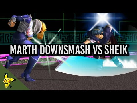 Cool trick for Marth against Sheik