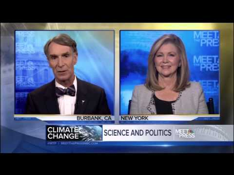 Bill Nye vs Marsha Blackburn - Meet The Press