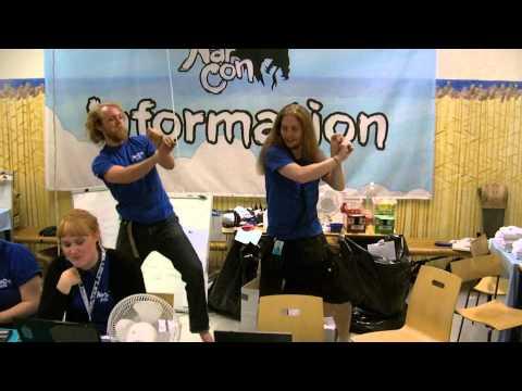 NärCon2012 - Information Desk Gangnam Style