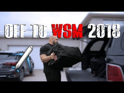GOING TO 2018 WSM WITH 60LBS OF MEAT | PHILIPPINES | 4X WSM BRIAN SHAW