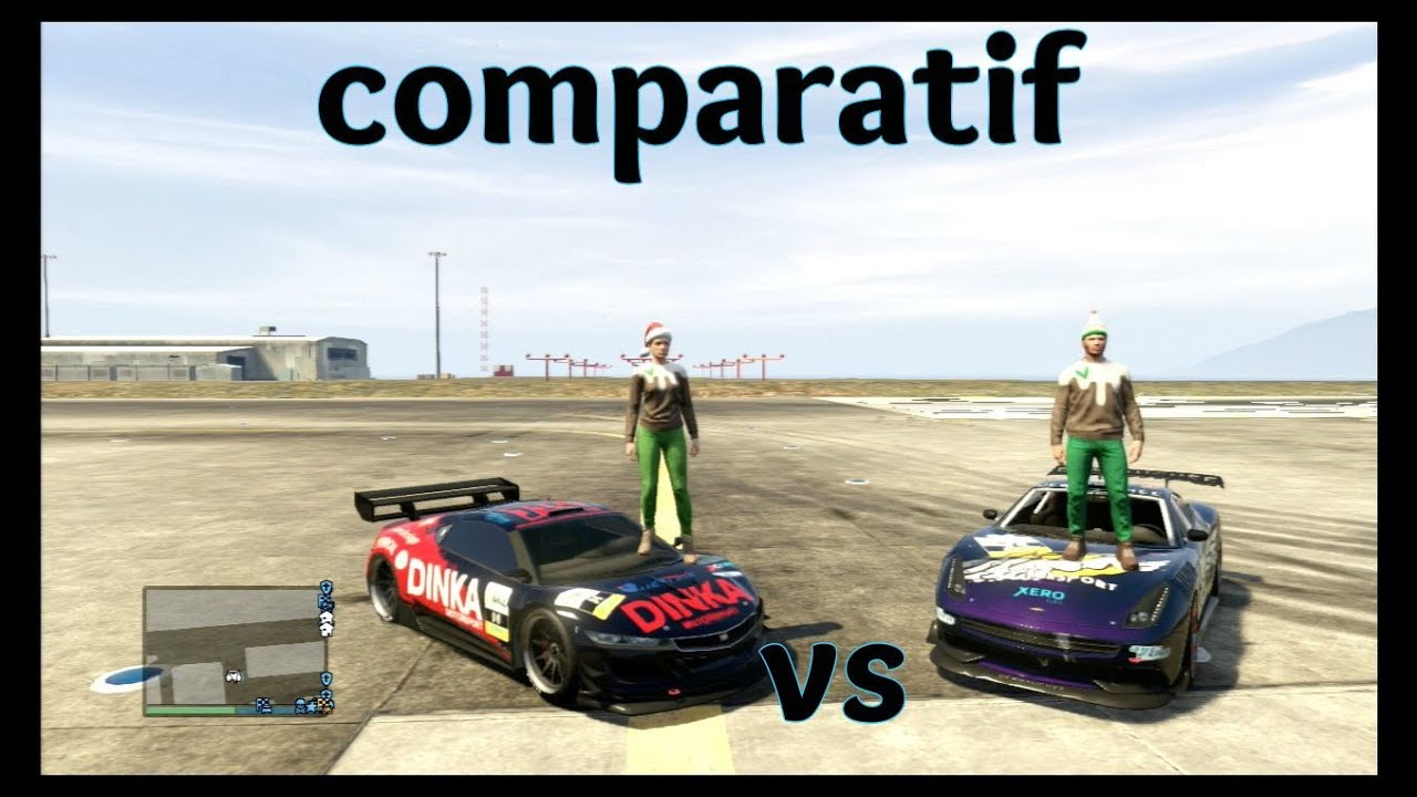 gta 5 comparatif voiture. Black Bedroom Furniture Sets. Home Design Ideas