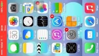 Cách quay màn hình trên IOS