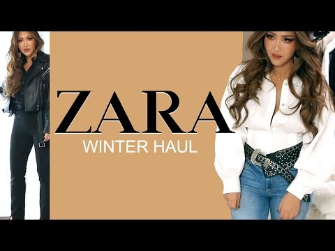 ★  NEW-IN ZARA TRY-ON HAUL 🏼 AUTUMN Winter Clothing 2019 | OUTFIT IDEAS