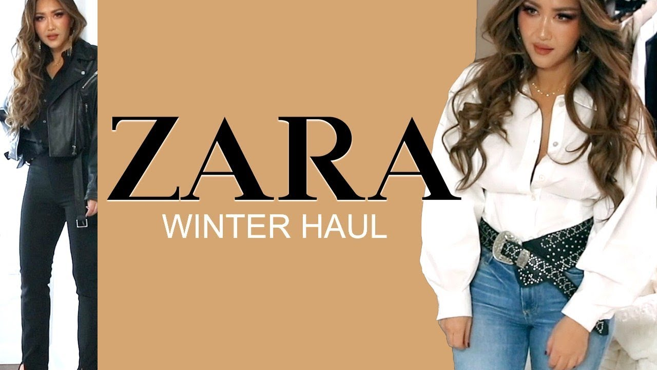 [VIDEO] - ★  NEW-IN ZARA TRY-ON HAUL ? AUTUMN Winter Clothing 2019 | OUTFIT IDEAS 2