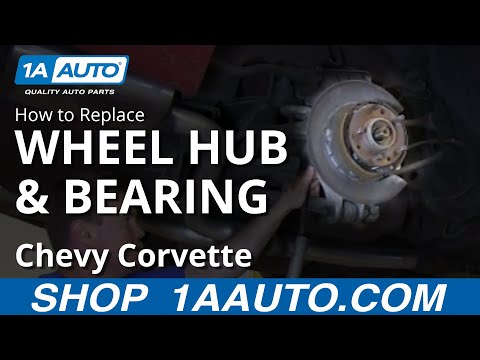 How To Replace Rear Wheel Bearing & Hub 84-96 Chevy Corvette