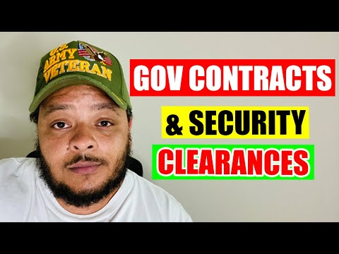 Government I.T. Contracts, Security Clearances & More