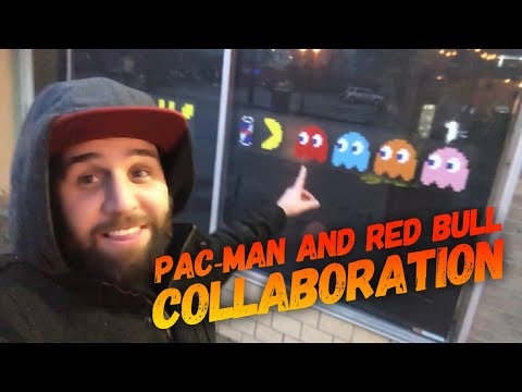 Red Bull & Pac-man Limited Edition  Collaboration || Exclusive Columbus Ohio Pop Up