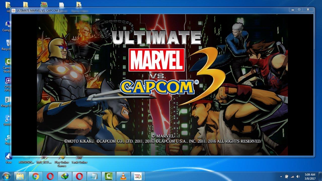 Game fix / crack: ultimate marvel vs. Capcom 3 v1. 0 all no-dvd.