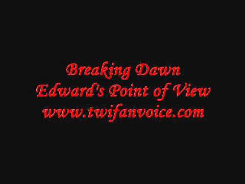 breaking dawn edward pov