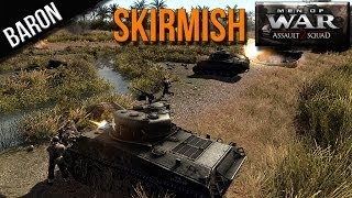 Men of War Assault Squad 2 - Online Multiplayer Gameplay (Skirmish) - MOWAS 2 - Assault Squad 2