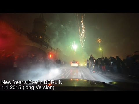 New Year's Eve in BERLIN 1.1.2015 (long Version)