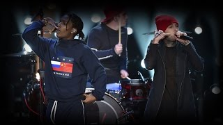 twenty one pilotsA AP Rocky VMAs Performance 2015