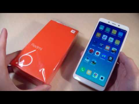 Обзор Xiaomi Redmi 6 3/32GB