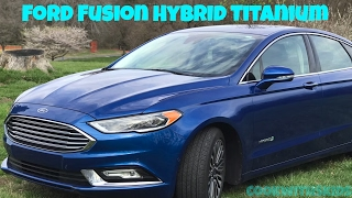 2017 Ford Fusion Hybrid Titanium Interior Features