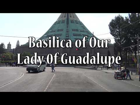 Mexico city   Tlatelolco Ruins and Shrine of Guadalupe